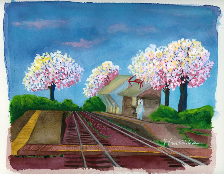 南阿蘇鉄道中松駅